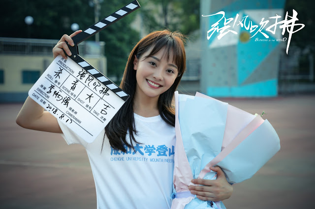 Blowing in the Wind wrap filming