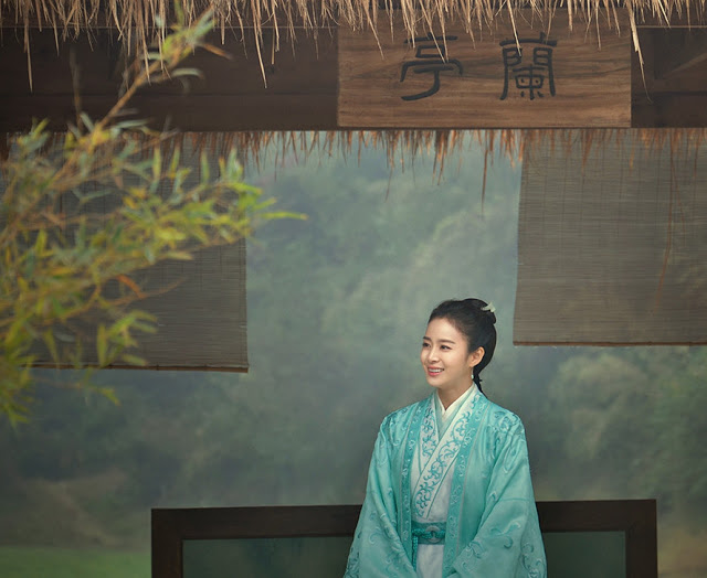 Kim Tae Hee in a Chines historical drama