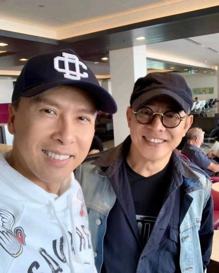 Filming wrap Mulan 2020 Jet Li Donnie Yen