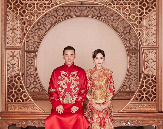 Tang Yan Luo Jin traditional Chinese wedding