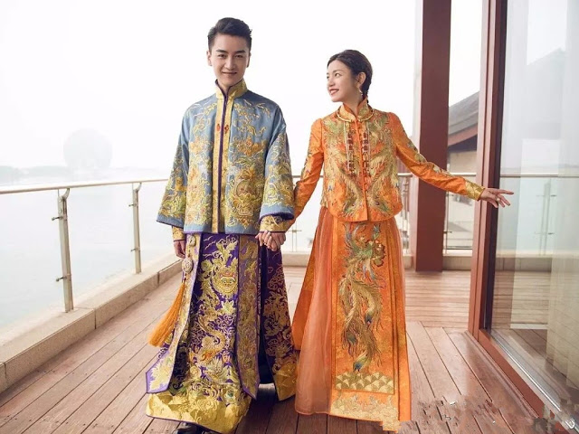 traditional Chinese wedding Michelle Chen Chen Xiao