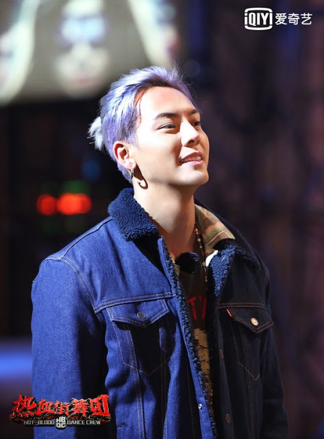 William Chan hair colors Hot Blood Dance Crew