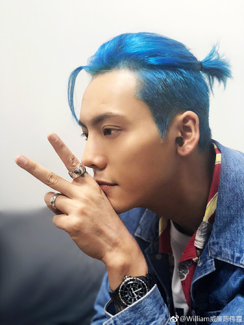 William Chan hair colors