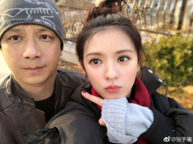 Zhang Yuxi and her family