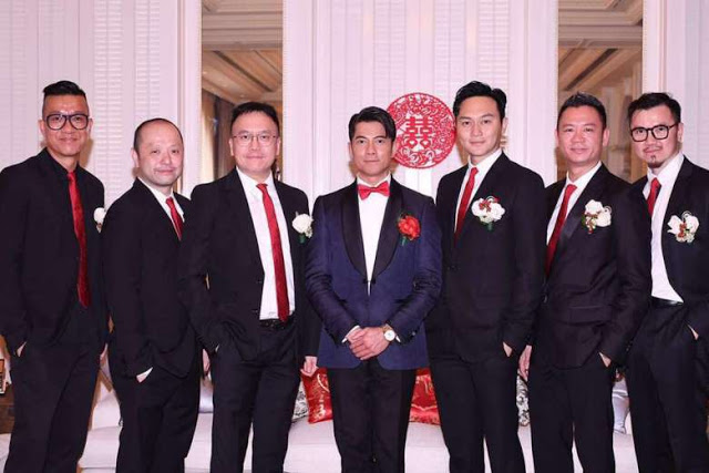 Aaron Kwok Wedding Julian Cheung