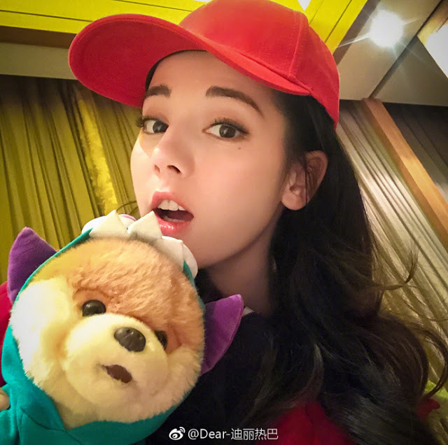 Dilraba Dilmurat and Boo