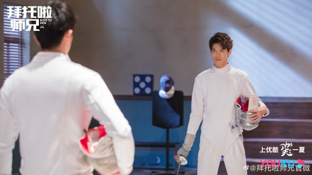 Boys to Men fencing drama