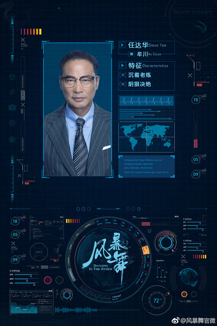 Dancing in the Storm Chinese TV series Simon Yam