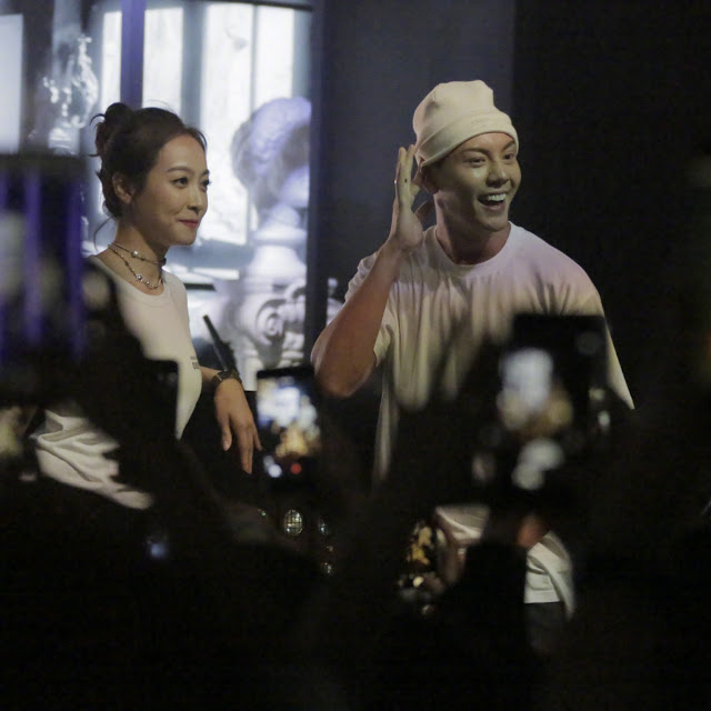 Chanel party Victoria Song William Chan dance