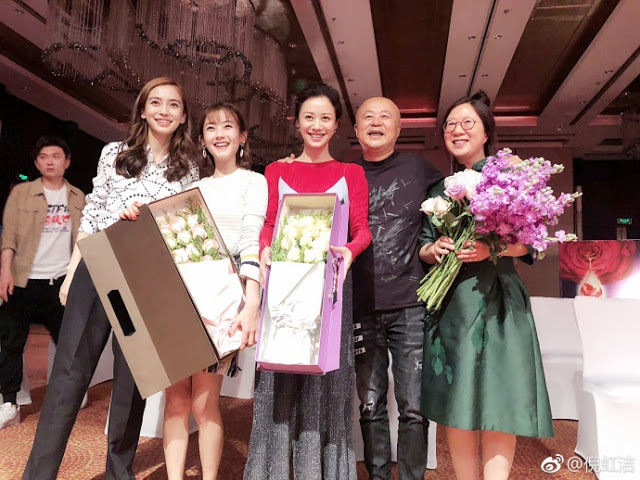 The Life Planner Filming wrap Angelababy