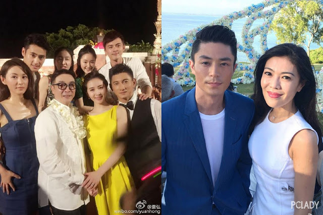 Nicky Wu and Liu Shi Shi