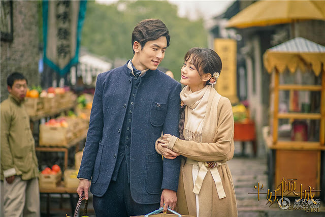Zhang Zhe Han and Li Yi Tong in 2016 Chinese fantasy drama Demon Girl