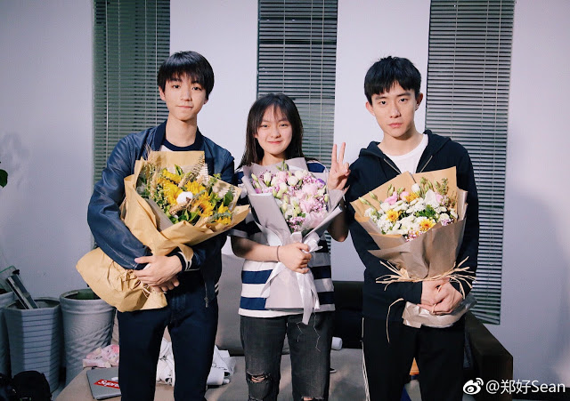 Eagles and Youngster Filming wrap Karry Wang Sean Zheng Hao