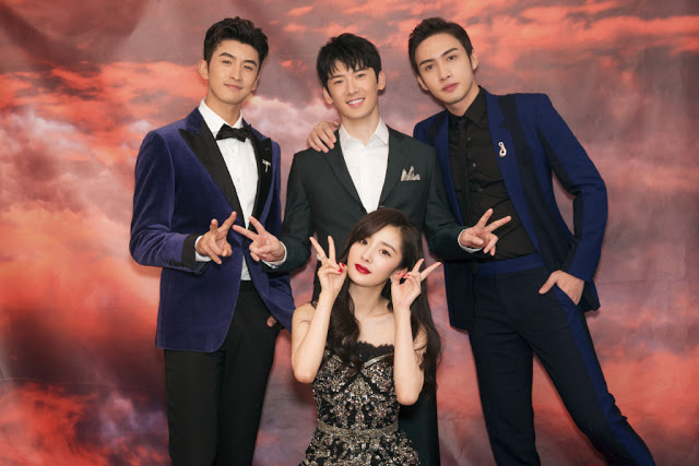 Elle Night Yang Mi,Jaywalk Studio, Vin Zhang, Leon Zhang, Liu Ruilin