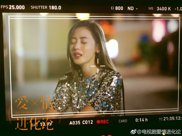 The Evolution of Our Love c-drama Crystal Zhang Tian Ai
