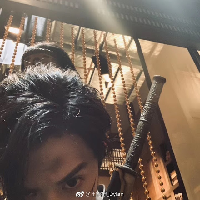 Ever Night 2 Behind the Scenes Dylan Wang