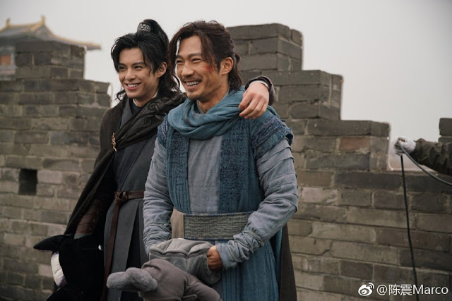 Ever Night 2 Cast Filming Dylan Wang Marco Chen