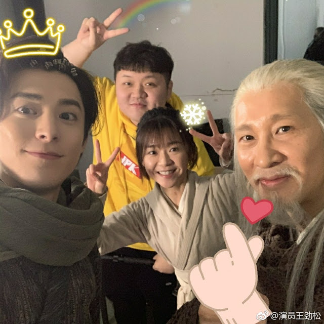 Ever Night 2 Behind the Scenes Dylan Wang Song Yiren Wang Jinsong