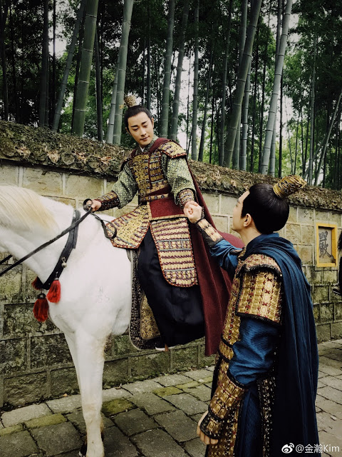 Filming Wrap Royal Nirvana Jin Han Luo Jin