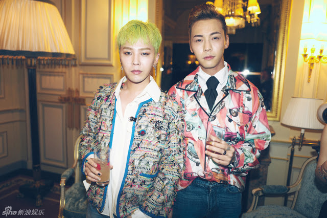 Willliam Chan and G Dragon