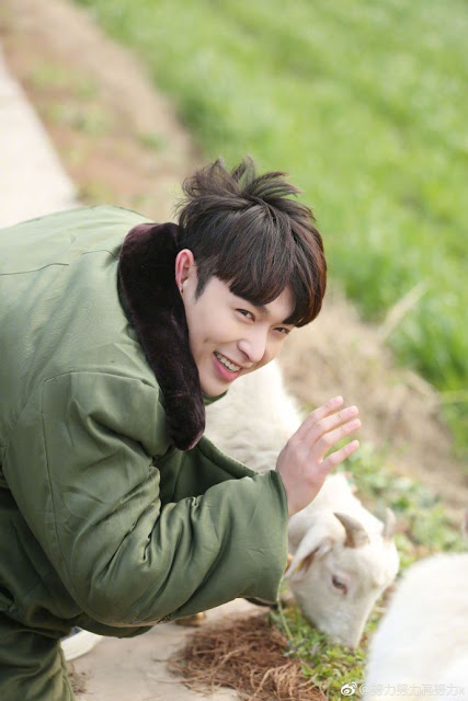 Zhang Yixing sheep eat grass Go! Fighting