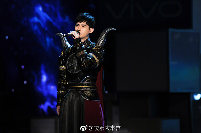 Happy Camp Variety Show Liehuo Ruge cast Vic Chou