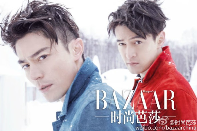 Hu Ge and Wallace Huo