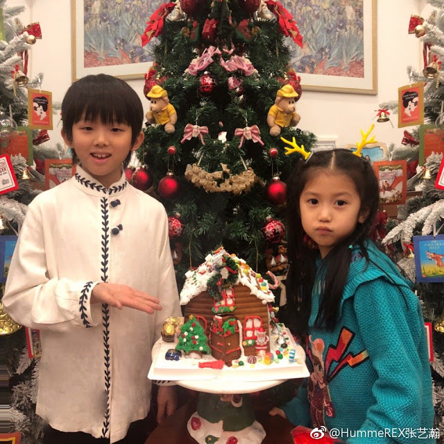 Hummer Zhang Yihan 8 years old