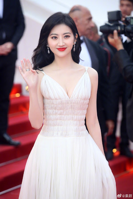Jing Tian Cannes Red Carpet 2019