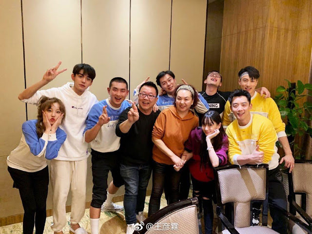 Wu Chun with Keep Running cast