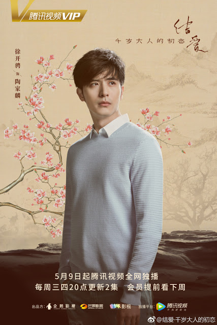 Xu Kai Zheng Character poster The Love Knot: His Excellency