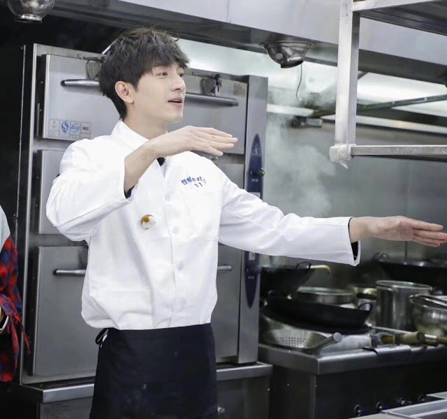 Lin Gengxin cooking skils