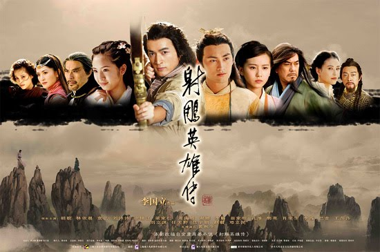 Legend of the Condor Heroes, Ariel Lin, classic wuxia Jin Yong, c-drama withdrawal syndrome