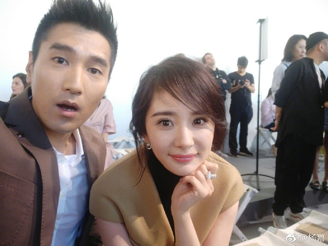 Yang Mi Mark Chao reunited