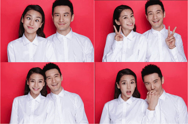 Huang Xiaoming Angelababy marriage license photo 2015