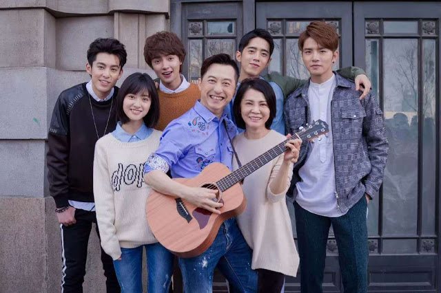 Meteor Garden Ending Harlem Yu Angie Chai and cast