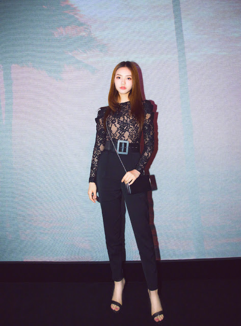 Jelly Lin red carpet