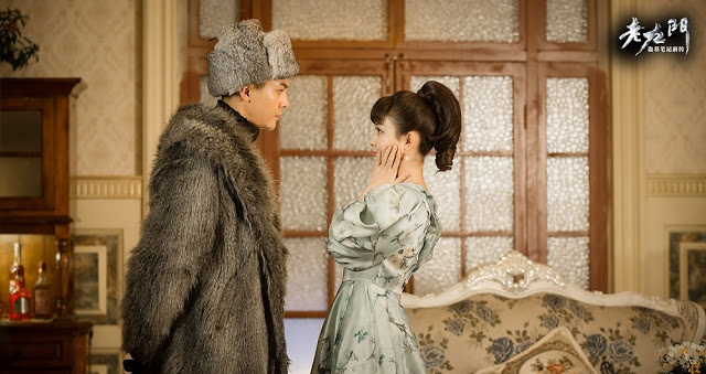 Zhao Li Ying and William Chan in Old Nine Gates