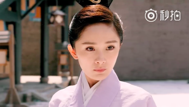 Yang Mi on Only Side By Side With You