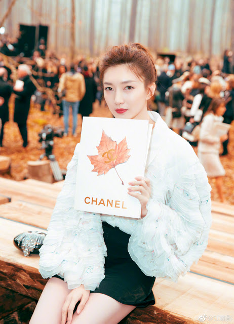 Paris Fashion Week 2018 Chanel Maggie Jiang
