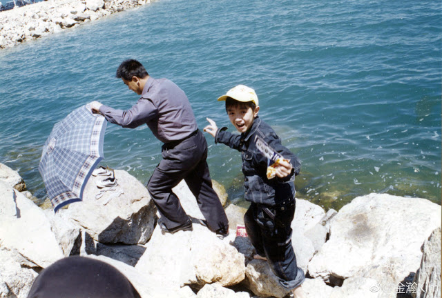 Kim Jin Han childhood photo