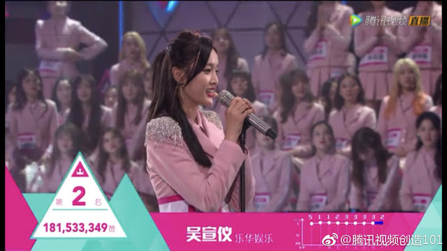 Produce 101 Rocket Girls Wu Xuanyi