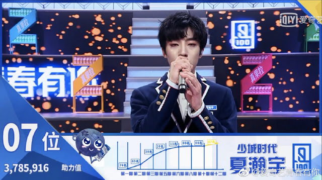 idol producer 2 qing chun you ni xia hanyu