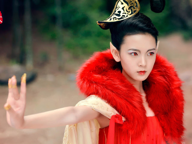 Qing Qiu Legend of Nine Tails Fox Sabrina Chen Yao