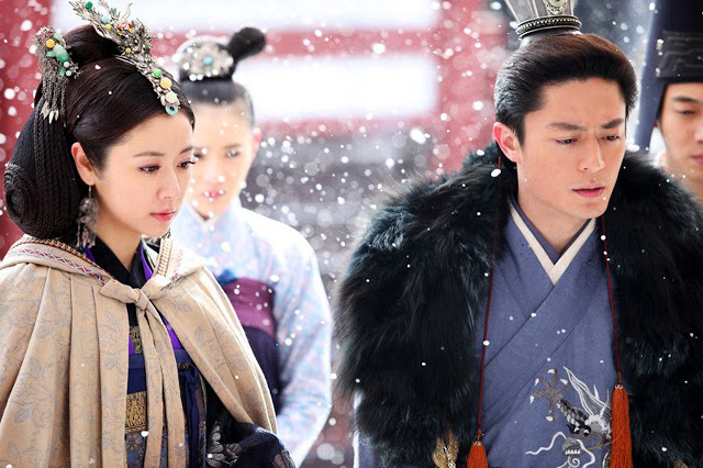 Ruby Lin and Wallace Huo in The Glamorous Imperial Concubine