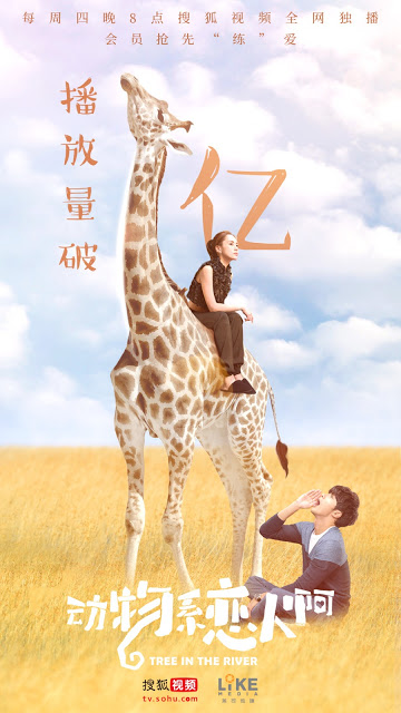 Tree in the River Chinese web drama online viewership