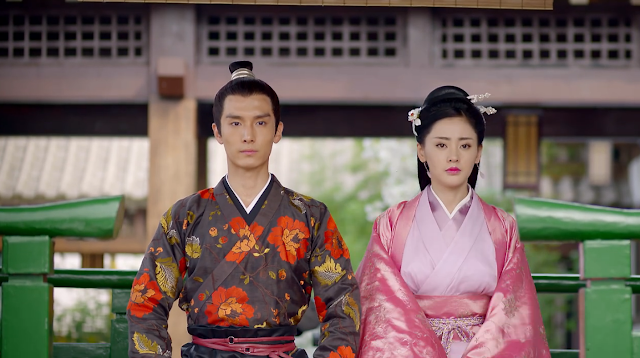 scene from ep 5 in cdrama Go Princess Go (Qi Sheng and Zhang Peng Peng)