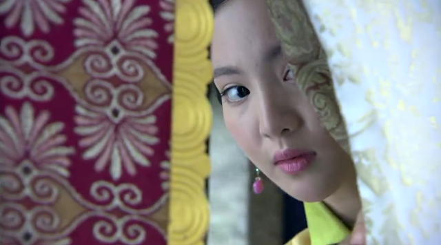 Gina Jin in 2016 popular cdrama The Imperial Doctress