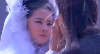 Crystal Liu in final episode of popular cdrama Return of the Condor Heroes (2006)