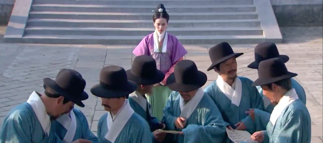 ep16 scene in Imperial Doctress, a Chinese palace drama